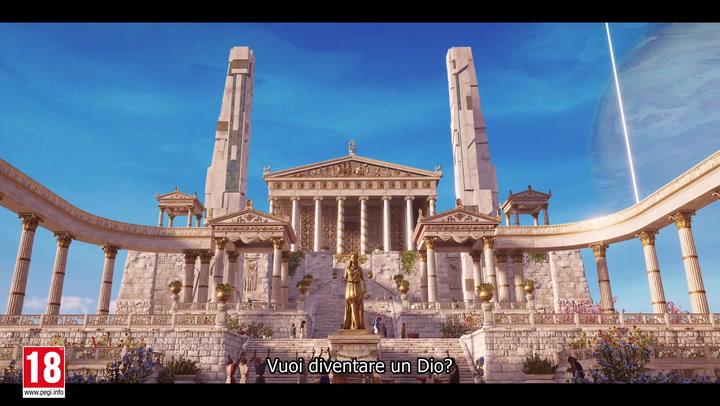 59195 Assassins Creed Odyssey Il Destino Di Atlantide Campi Elisi Trailer Dannuncio