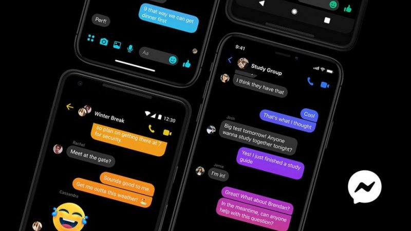 Facebook Messenger Dark Mode Modalita Scura 1