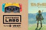 The Legend of Zelda: Breath of the Wild, immagini versione Nintedo Labo - Kit VR - Notizia