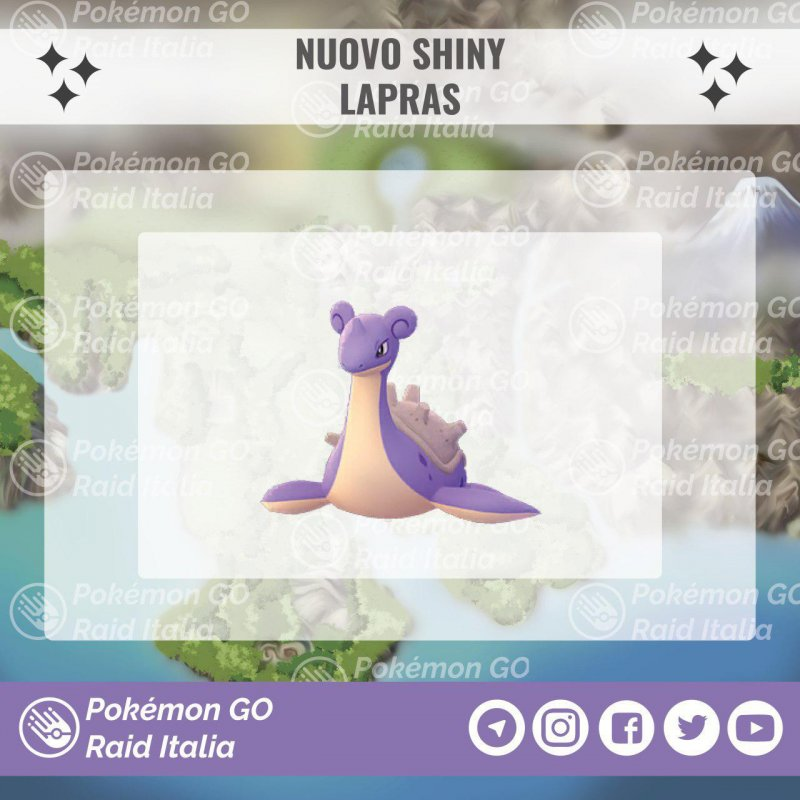Pokemon Go Lapras Shiny 1