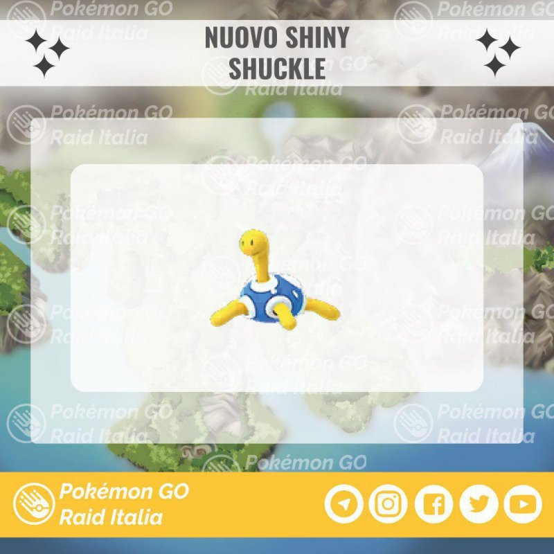 Pokemon Go Shuckle Shiny 1