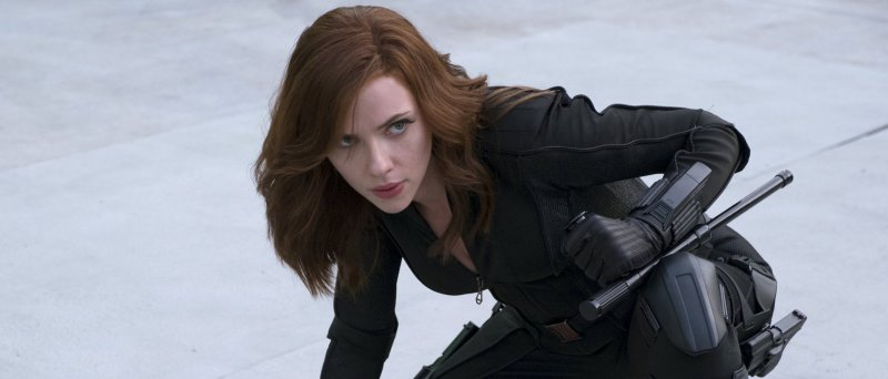 Scarlett Johansson As Black Widow In Captain America Civil War 1