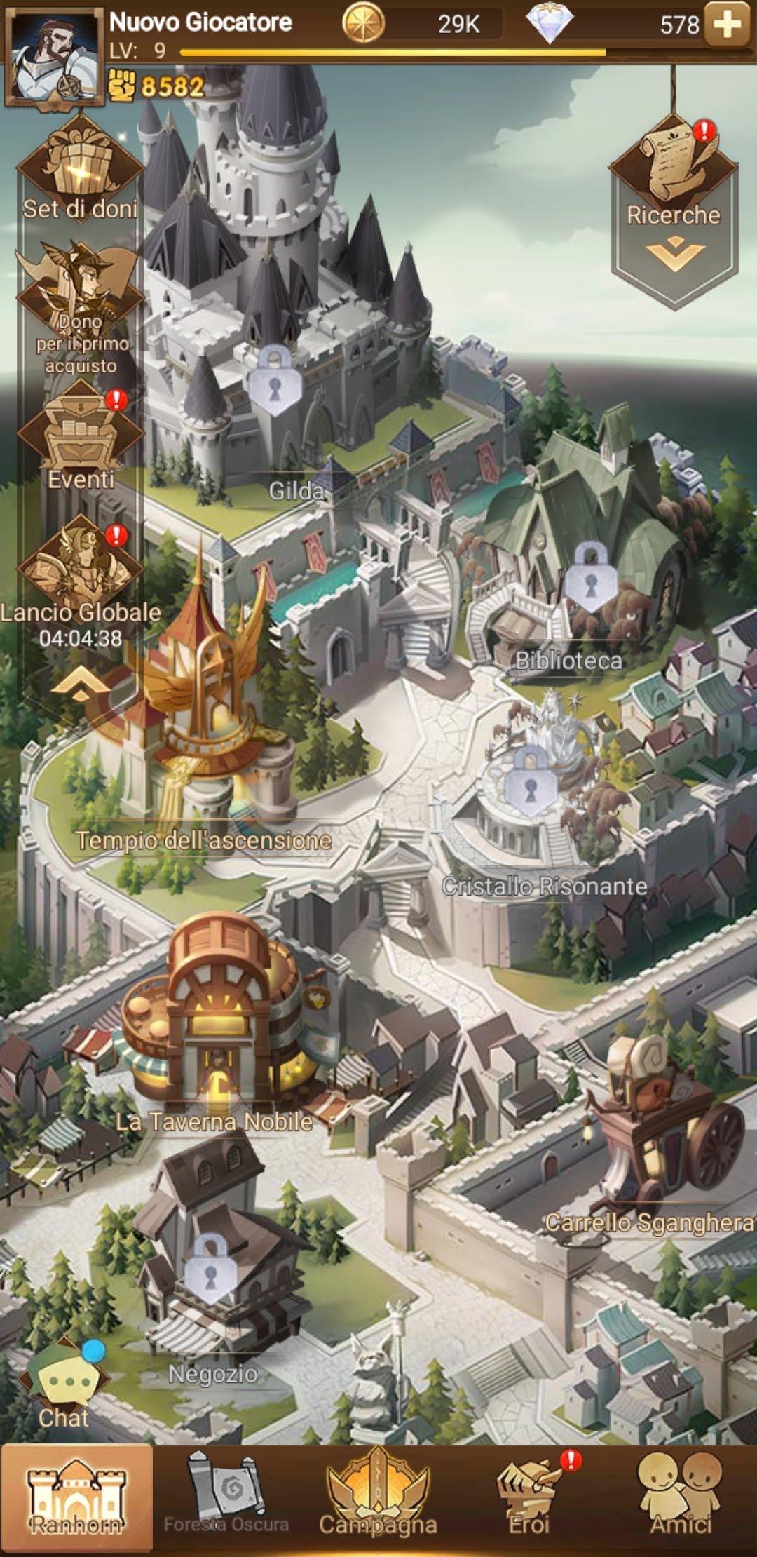 AFK Arena GRATIS : Recensione, Gameplay e Download