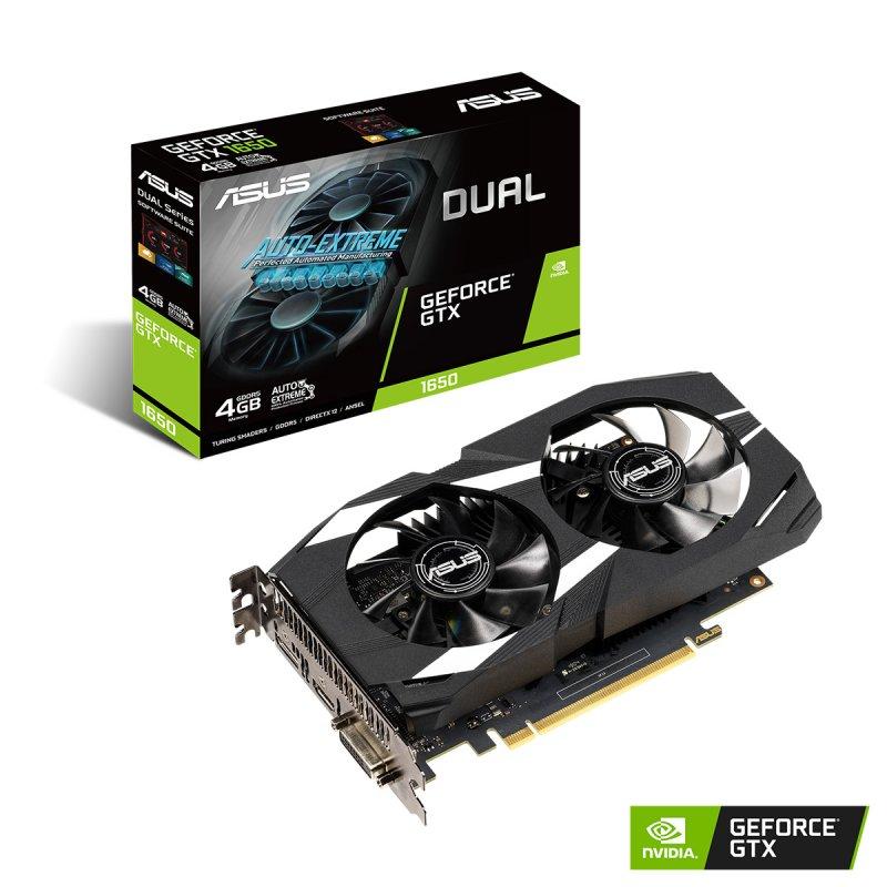 Vga Dual Geforce Gtx 1650 A Etail Gallery Images 4G
