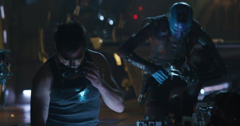 Avengers Endgame Images Tony Stark Nebula