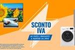 Unieuro: sconto IVA su tutti i prodotti a partire da 299 euro - Notizia