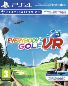 Everybody's Golf VR per PlayStation 4