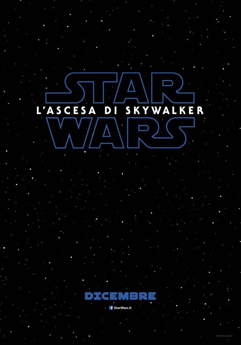 Risultati immagini per star wars l'ascesa di skywalker poster