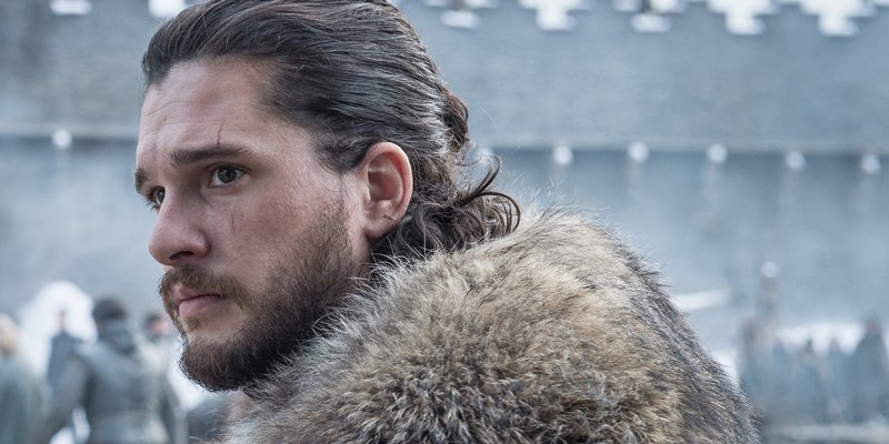 Jon Snow In Winterfell In Game Of Thrones Season 8 Eohqu3P