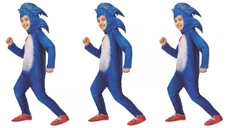 f5cc060e520a Come saprete, il design del nuovo Sonic cinematografico non è piaciuto a  molti. Si poteva fare peggio? La risposta è nel costume per bambini con  licenza ...