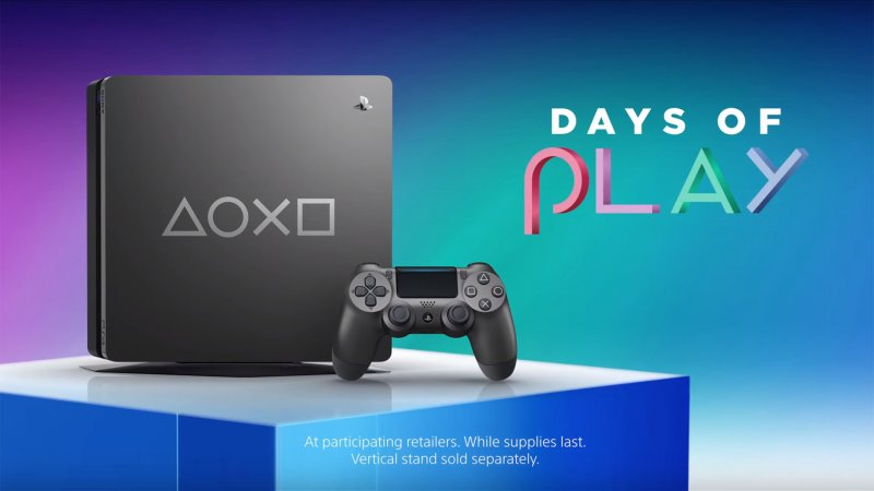 Ps4 Days Of Play Steel Grey