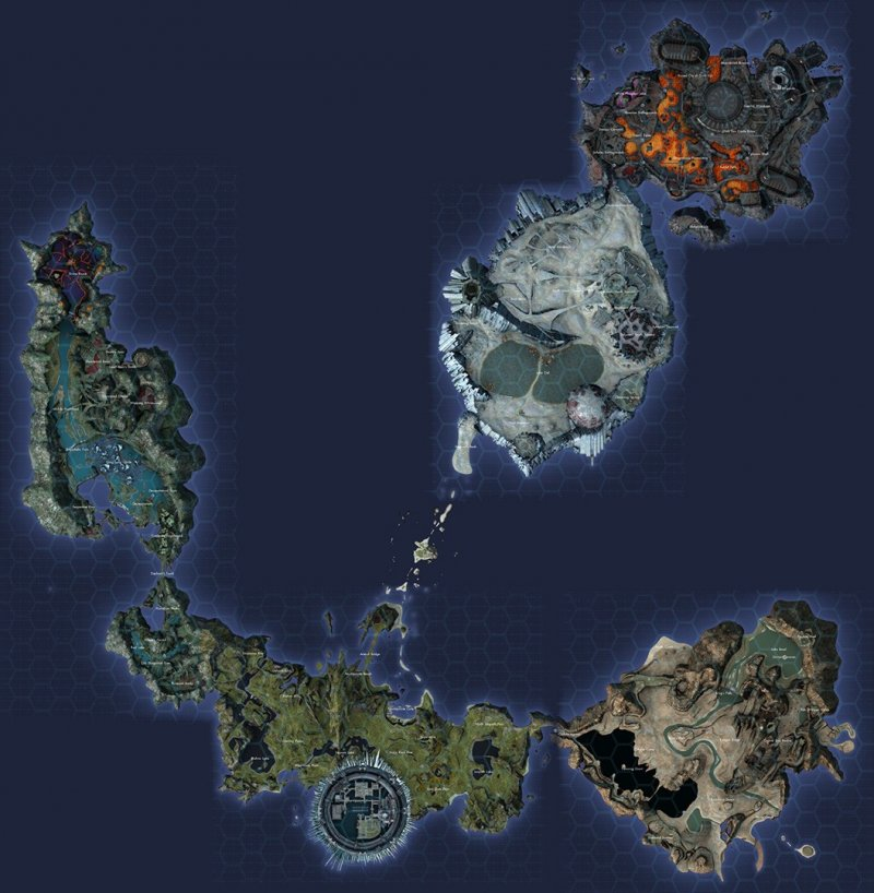 9 Xenoblade Chronicles X Map