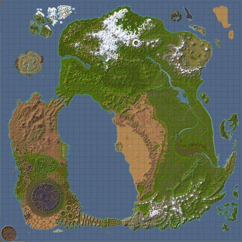 Asherons Call Map