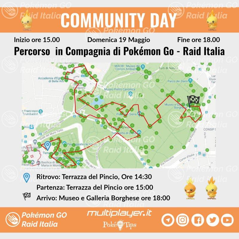 Mappa Community Day Maggio Roma 01 2