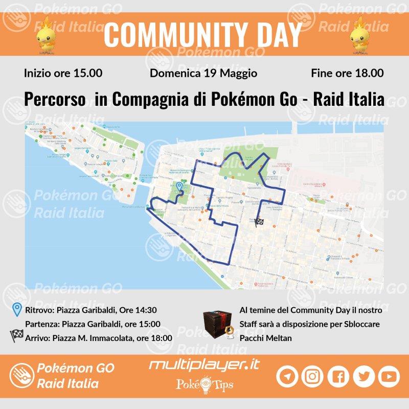 Mappa Community Day Maggio Taranto 01