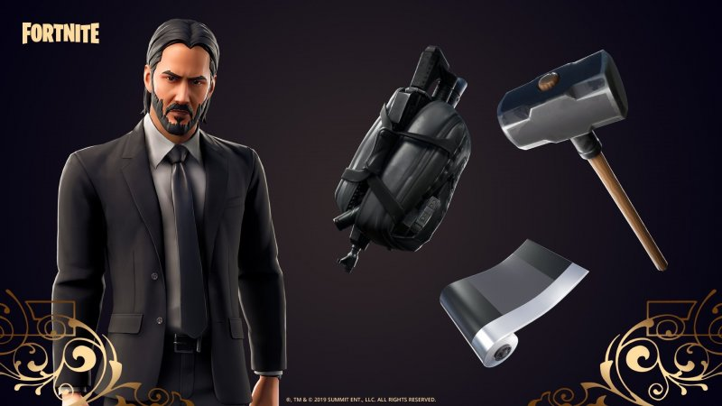 Fortnite Evento John Wick 2