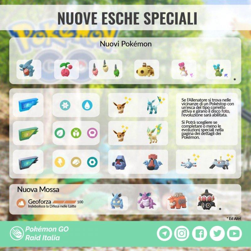 Pokemon Go Funzionamento Esche Speciali Immagine 1