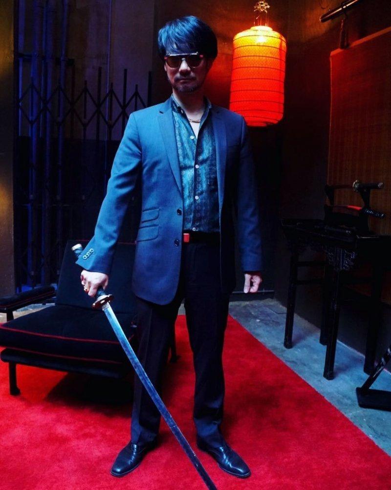 Hideo Kojima Katana Tournage Too Old To Die Young 180222