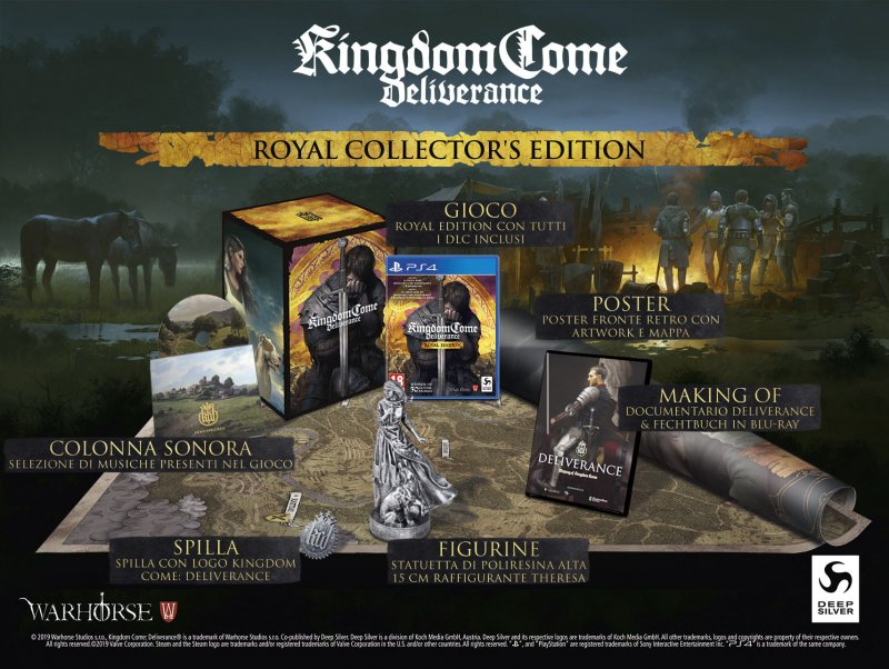 Kingdom Come Deliverance Royal Edition Collector