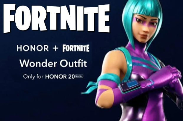 Fortnite Honor Wonder Promozione Epic Games Honor 20 Pro 1