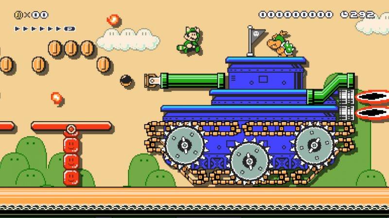Super Mario Maker 2, finally tried the new Nint Editor …