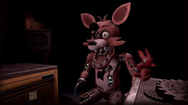 Five Nights At Freddys Vr 5