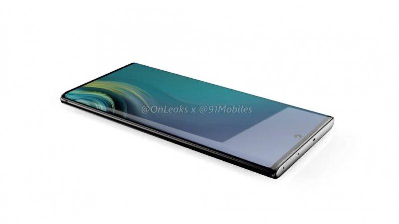 Samsung Galaxy Note 10 Render 2
