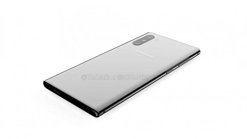 Samsung Galaxy Note 10 Render 3