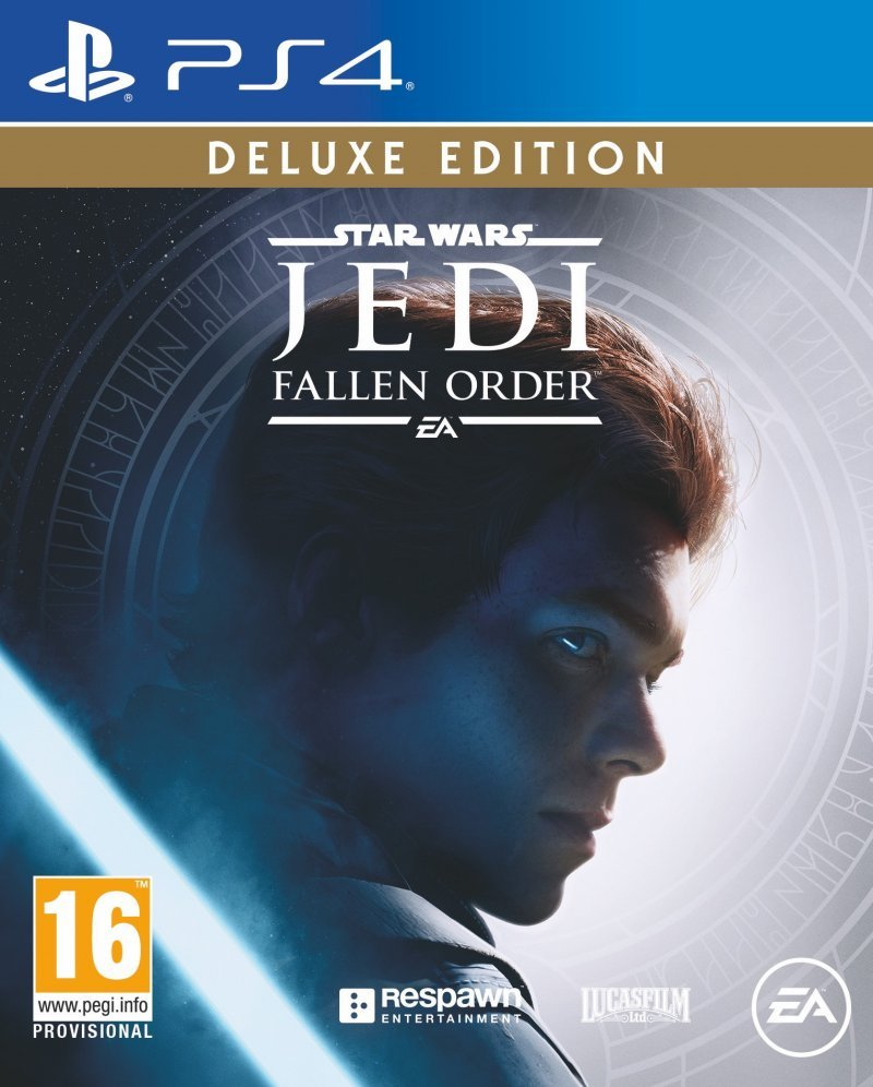 Star Wars Jedi Fallen Order Box Art Deluxe Edition