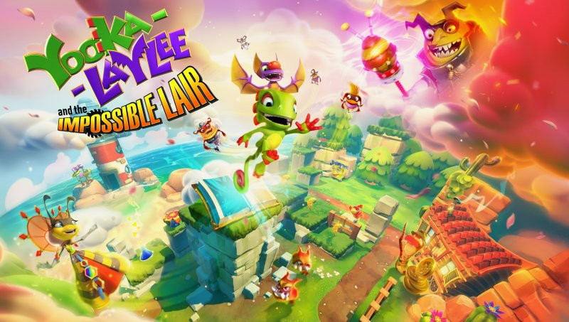Yooka Laylee And The Impossible Lair Key Art