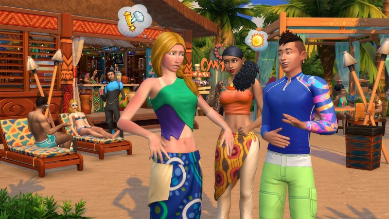 The Sims 4 Vita Sull Isola