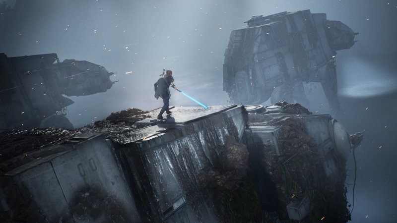 Star Wars Jedi Fallen Order At At