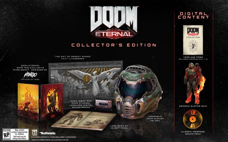 Doom Eternal Collectors Edition