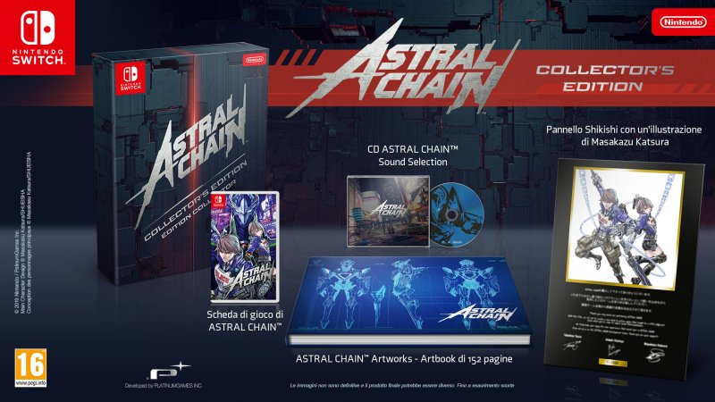Astral Chain Collectors Edition