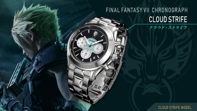 Final Fantasy 7 Remake Orologi Cloud