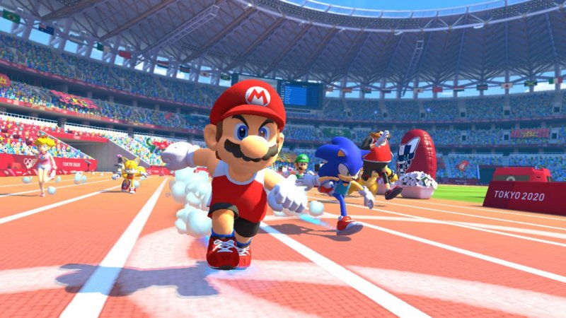Mario Sonic Giochi Olimpici Tokyo 2020 Gamesoul 1422X800