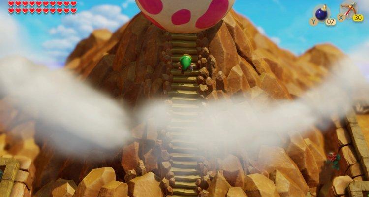 Link's Awakening, il provato