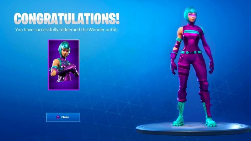Fortnite Skin Wonder Honor 20 1