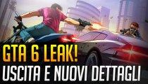 GTA 6 Leak! Uscita e nuovi dettagli
