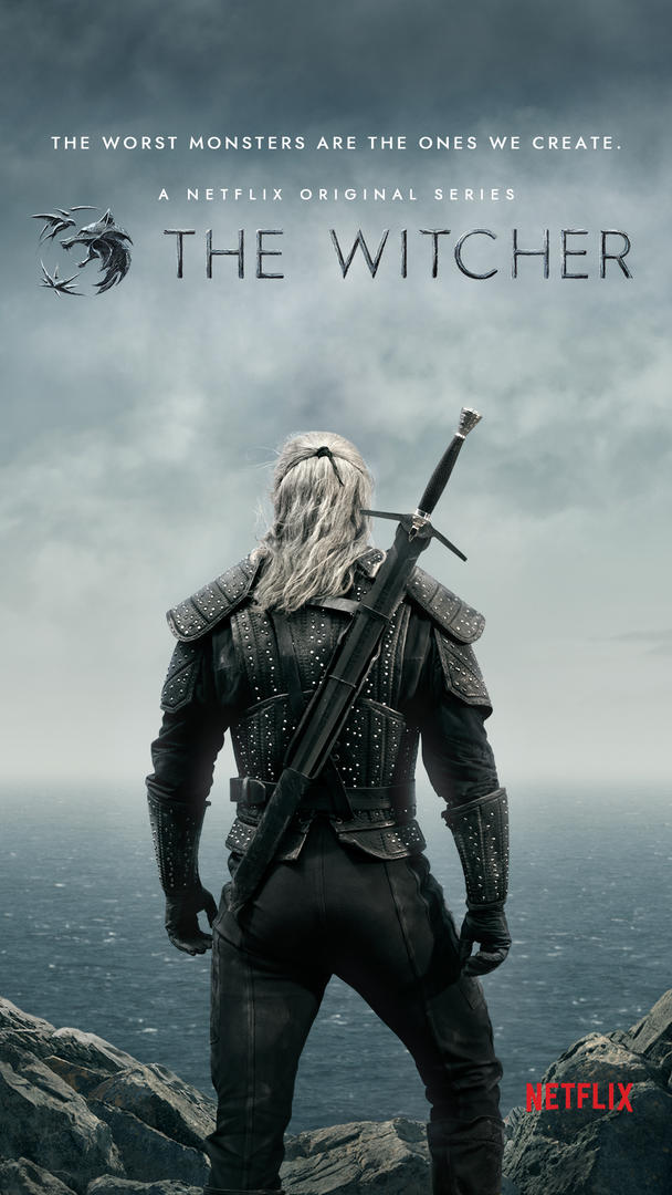 The Witcher Serie Netflix Locandina