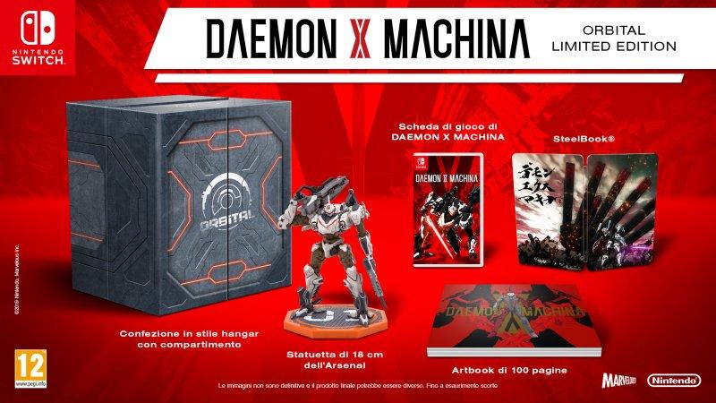 Daemon X Machina Limited Edition