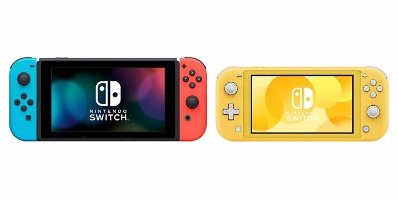 Nintendo Switch Lite Confronto