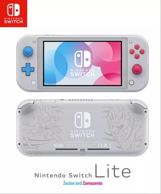 Nintendo Switch Lite Pokemon Spada Scudo
