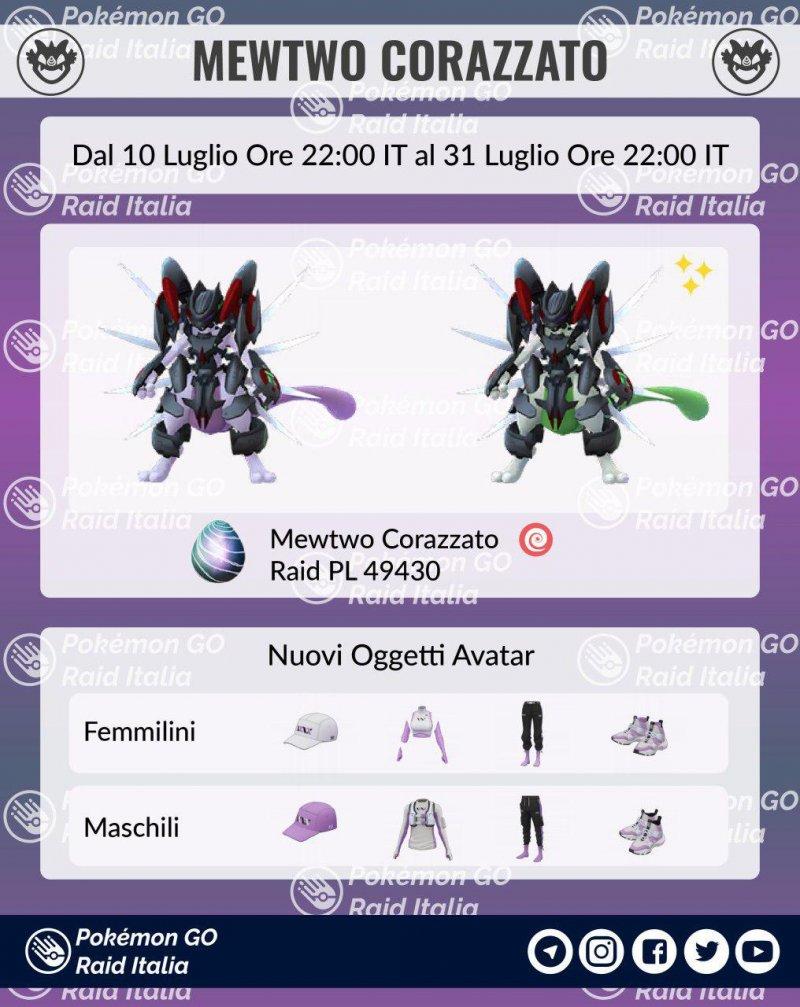 Pokemon Go Mewtwo Corazzato 1