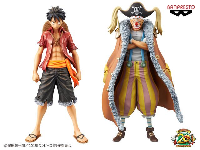 One Piece Stampede, le action figure del film si mostrano