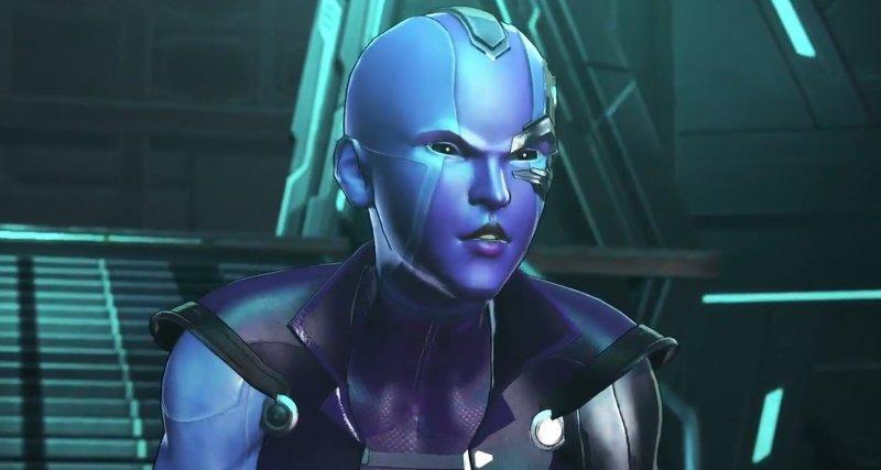 Nebula In Marvel Ultimate Alliance 3