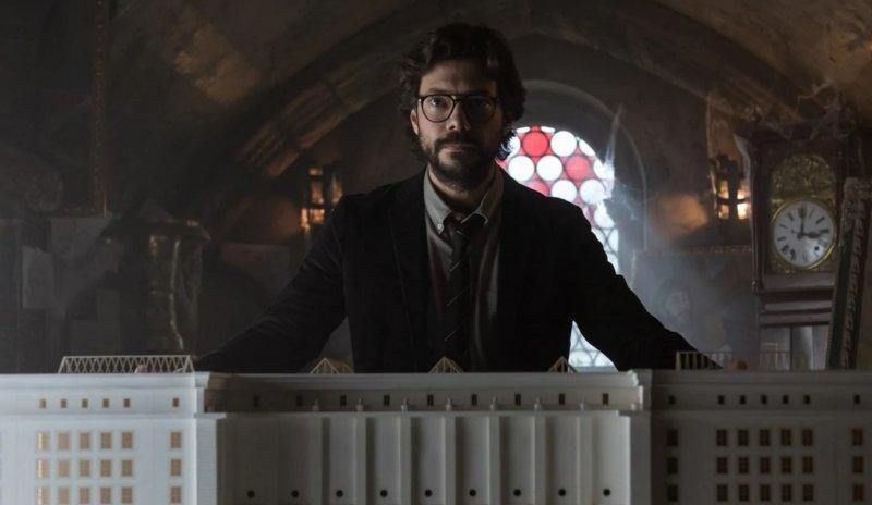 Il Professore La Casa Di Carta 3 Netflix
