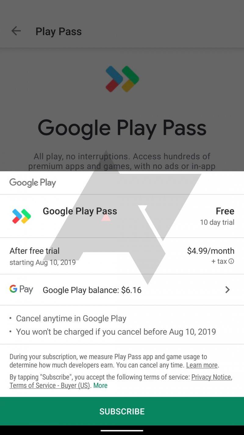 Google Play Pass Screenshot 2