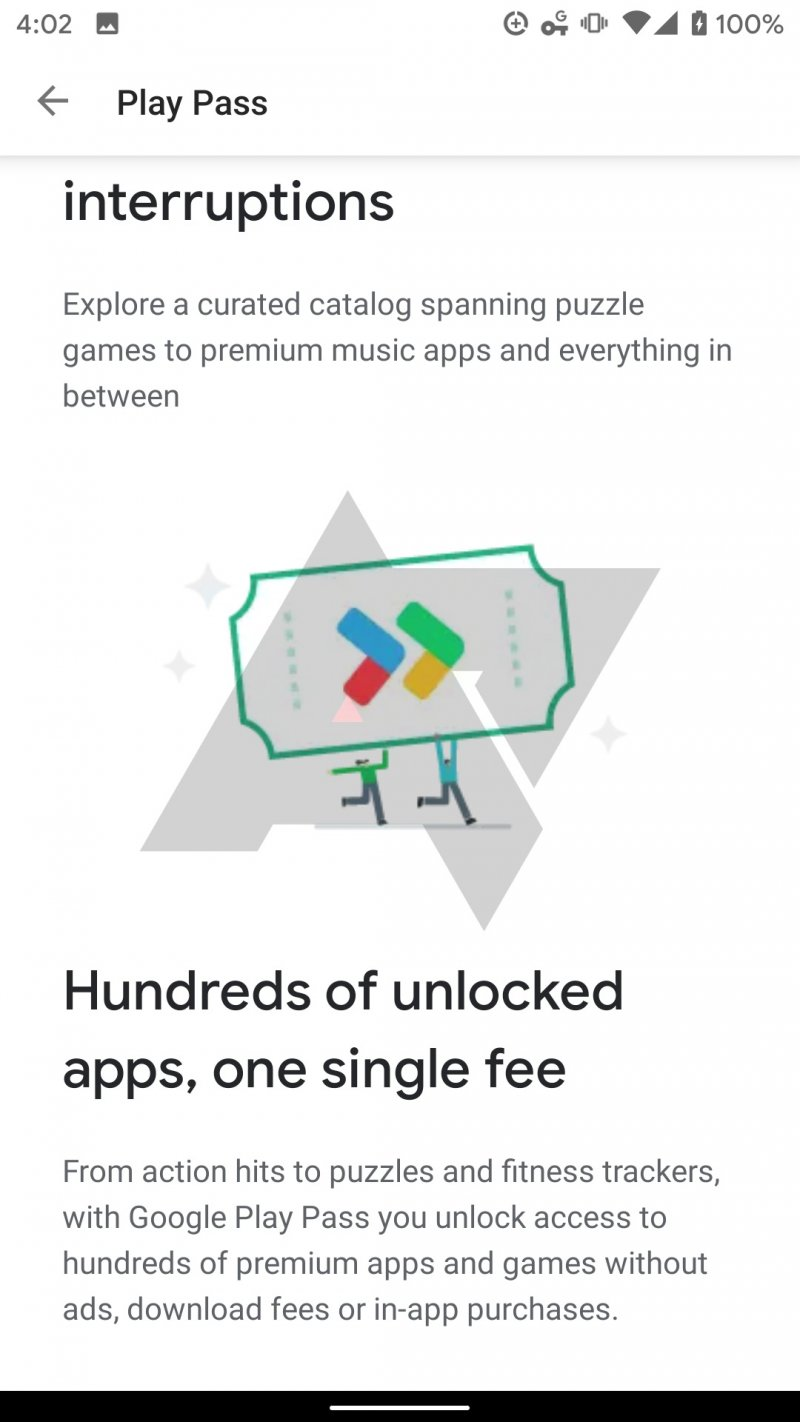 Google Play Pass Screenshot 4
