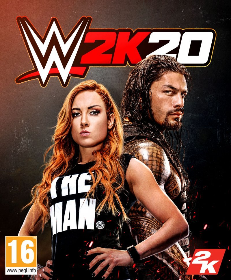 Wwe 2K20 Cover